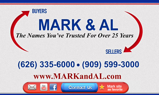 Mark and Al - Glendora Real Estate and Homes in the San Gabriel Valley with West Covina Real Estate Azusa Real Estate San Dimas Real Estate Markandal.com